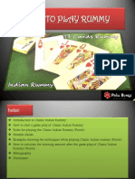 How to Play Classic Indian Rummy