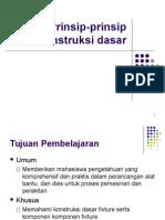 4 Prinsip Prinsip Konstruksi Dasar