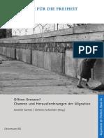 Offene Grenzen? Chancen und Herausforderungen der Migration