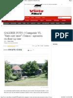GALERIE FOTO _ Campanie VL _Sate Care Mor__ Oanca - Asezarea Cu Doar 14 Case
