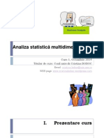 Analiza Multidim c1 Octombrie 2014