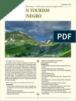 Mountain Tourism in Montenegro