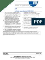 The Wildlife Amendment Bill 2013