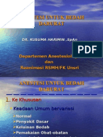 Anestesi Untuk Bedah Darurat(7)