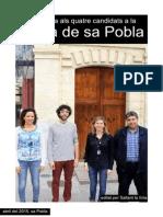 Entrevista als candidats - sa Pobla