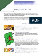 Earthquake Myths