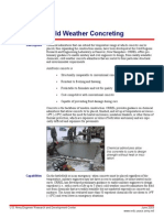 Cold Wether Concrete
