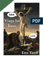 Leo Taxil - Viata Lui Isus (Fara Ilustratii)