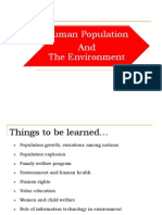 7 Human Population and the Environment