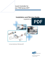 Installation Fiery®Network Controller for WorkCentre 7700 Series MFP Service Guide