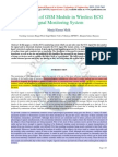 Applications of GSM Module in Wireless ECG