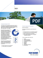 ISO 14001:2015 Revision