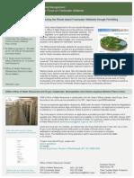 RI Department of Environmental Management Handout