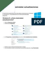Windows 8 Desinstalar Actualizaciones 13069 n4yia1