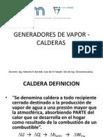 1 - Generadores de Vap0r-Calderas
