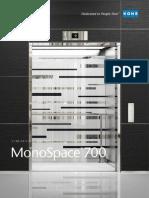 MonoSpace 700 Design Book- freight elevators