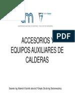 2 - Accesorios y Equipos Auxiliares de Calderas