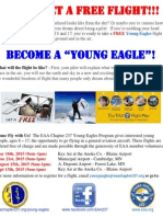 Young Eagles 2015 Flight Schedule