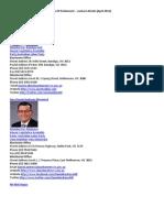 092.Parliament of Victoria Australia MPs Contact Details (April 2015)