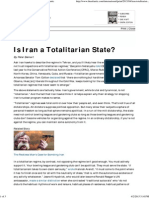 Is Iran a Totalitarian State