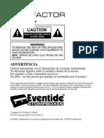 Delay Eventide Timefactor - Manual en Español