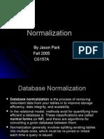 Jason Park Normalization