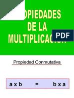 propiedades de la multiplicacin