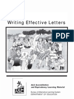 Writing Effective Letters Correspondence