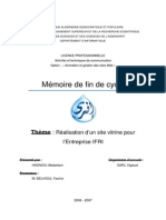 memoire de fin de cycle
