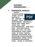 Nganteb Banten Piodalan