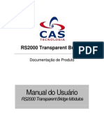 Manual RS2000