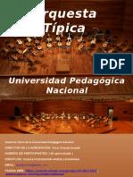 Orquesta t Pica Presentacion 2015