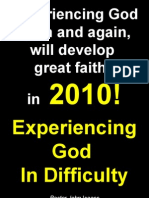 01-17-2010 Experiencing God in Difficulty