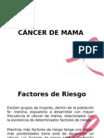 Cancer de Mama _ Factores de Riesgo Tema de Exposicion