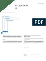 Document Scan Lock Kit-A1 SM Rev0 090809