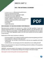 Macroeconomics Unit 2