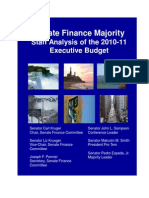 Senate Finance 2010 Blue Book
