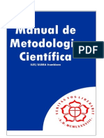Manual Da Metodista - metodologia