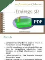 FAO Fraisage 3D