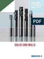 GB Catalog Solid End Mills 2014 LR