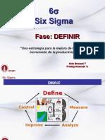 Fase Definir Six Sigma