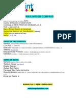 Formulario de Compras New Print de Venezuela