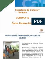 Cultura Comuna 18 - Alcaldia en Tu Barrio Definitiva