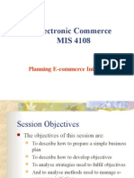 Planning E-commerce