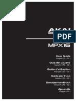 MPX16 - User Guide - V1.1