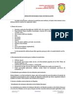 Informacion Matriculacion