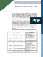 Protocolo Federal de Actuación en La Escena Del Crimen