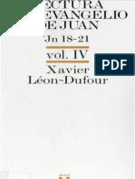 Leon Dufour, Xavier - Lectura Del Evangelio de Juan 04