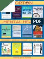 Norton Mental Health Spring 2015 Catalog