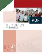Deutsch Test Fuer Zuwanderer Uebungstest 1